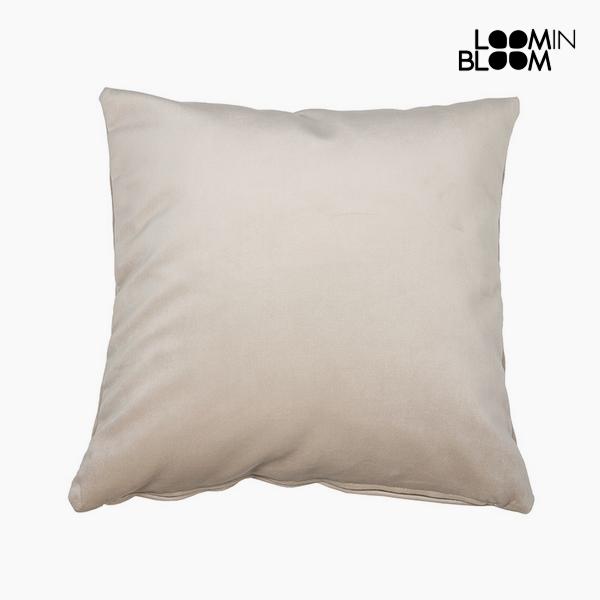 Polštářek Polyester Béžový (45 x 45 x 10 cm) by Loom In Bloom