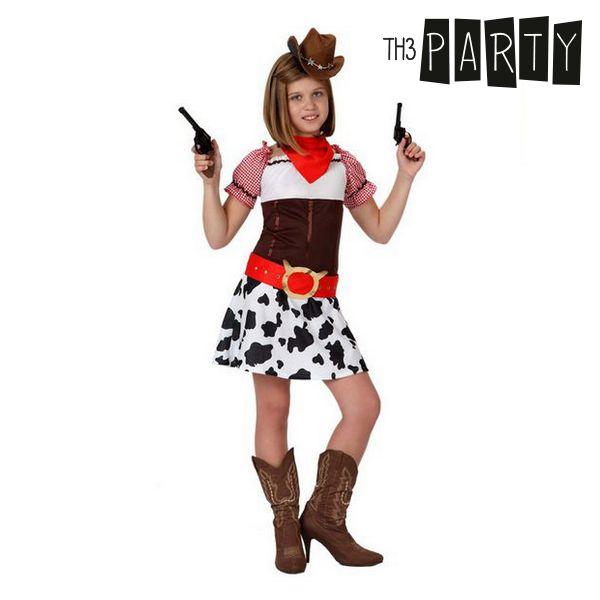 Kostým pro děti Th3 Party Žena kovboj - 3–4 roky