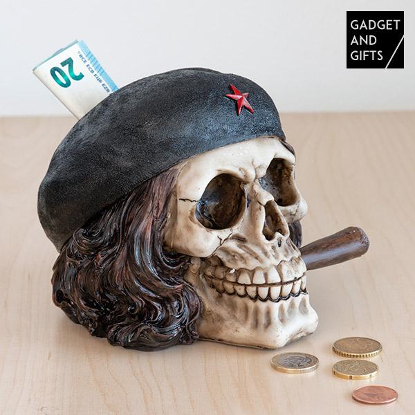 Skarbonka Czaszka Wojownik o Wolność z Cygarem Gadget and Gifts
