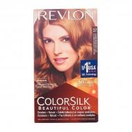 Farba bez Amoniaku Colorsilk Revlon Bardzo jasny złoty kasztan