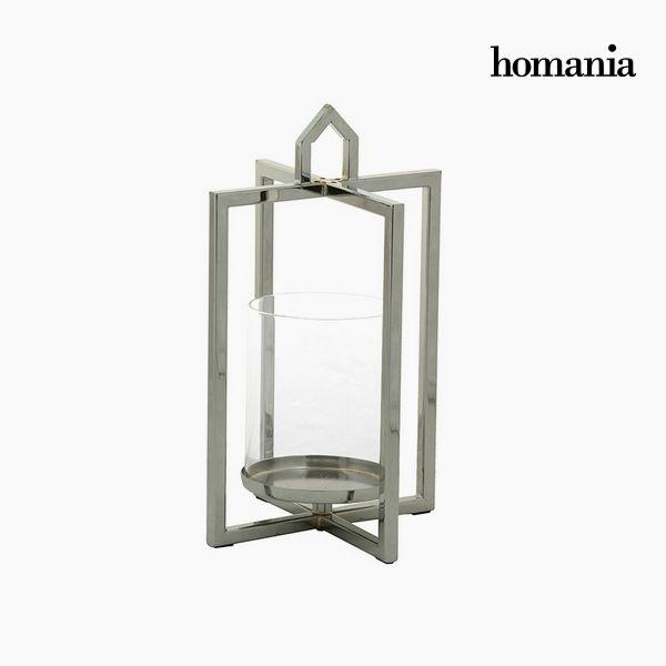 Świecznik Srebrzysty - Queen Deco Kolekcja by Homania