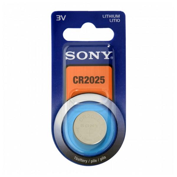Knoflíková lithiová baterie Sony CR2025B1A CR2025B1A 3 V 160 mAh Modrý