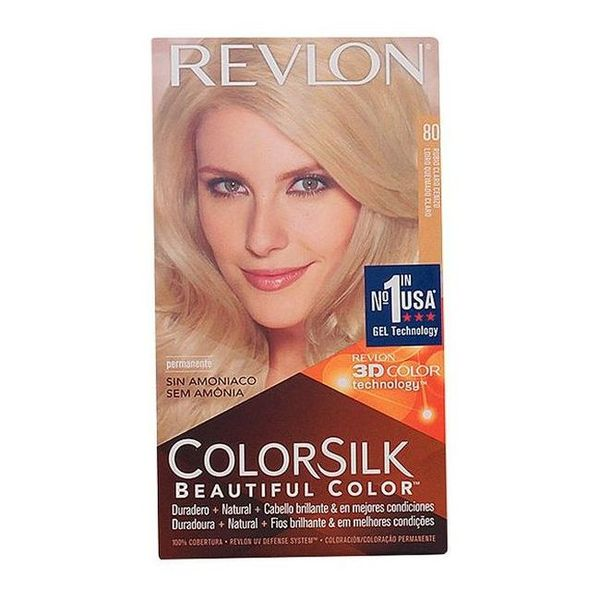 Farba bez Amoniaku Colorsilk Revlon Popielaty blond