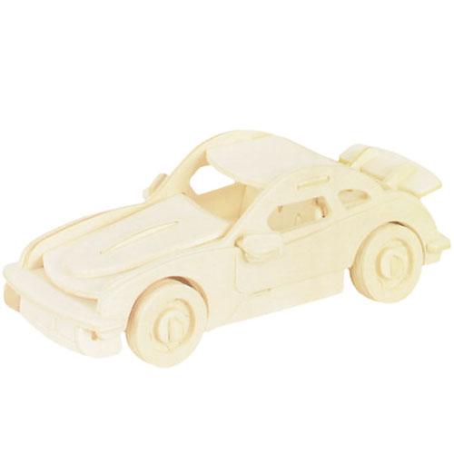 Dřevěné autíčko (skládačka)