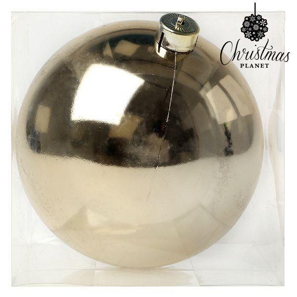 Vánoční koule Christmas Planet 7698 15 cm Zlatá