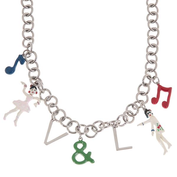 Dámský náhrdelník V&L VJ0144CO