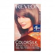 Farba bez Amoniaku Colorsilk Revlon Jasny popielaty kasztan