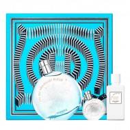 Souprava sdámským parfémem Eau Des Merveilles Bleue Hermes (3 pcs)