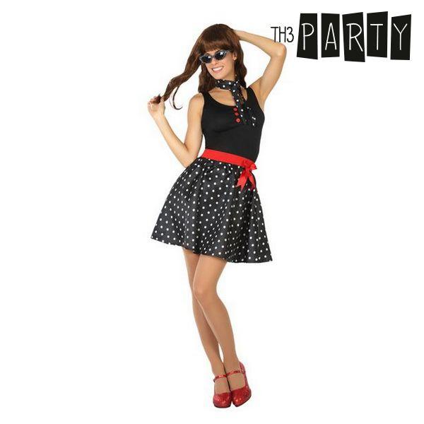 Kostým pro dospělé Th3 Party 50 let Černý - XS/S