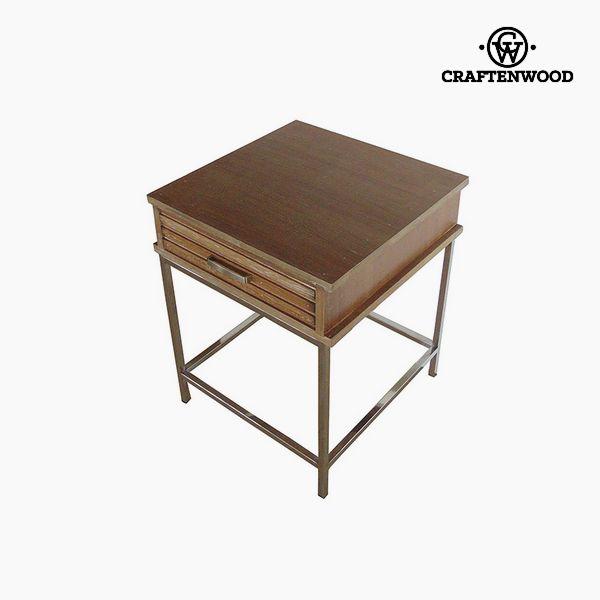 Noční stolek Teak (45 x 45 x 55 cm) by Craftenwood