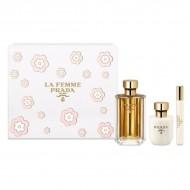 Souprava sdámským parfémem La Femme Prada (3 pcs)