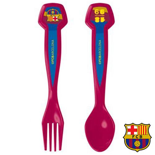 Sada příborů FC Barcelona (2 ks)