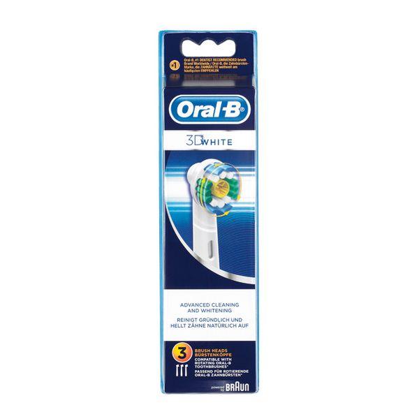 Náhrada pro elektrický kartáček na zuby Oral-B 3D White