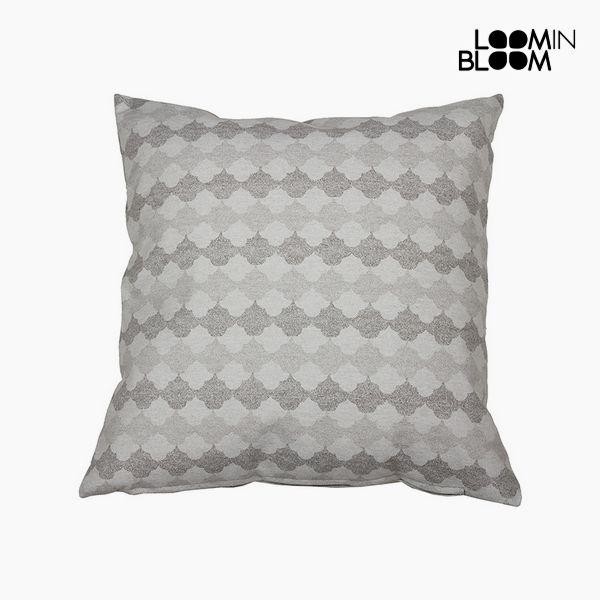 Polštářek Bavlna a polyester Šedý (45 x 45 x 10 cm) by Loom In Bloom