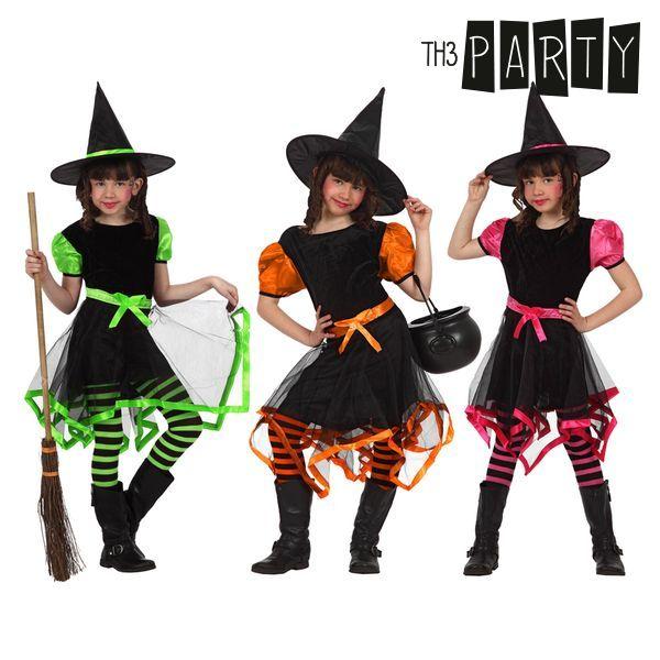Kostium dla Dzieci Th3 Party Czarownica Wielokolorowy - 3-4 lata