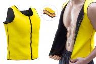 Pánská vesta pro hubnutí se sauna efektem - L