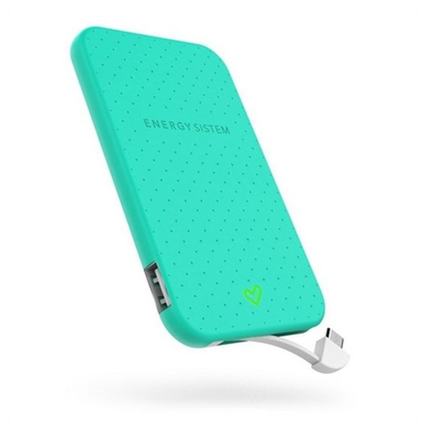 Powerbanka Energy Sistem Extra Battery 2500 424443 2500 mAh Zelená