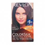 Farba bez Amoniaku Colorsilk Revlon Głęboki ciepły kasztan