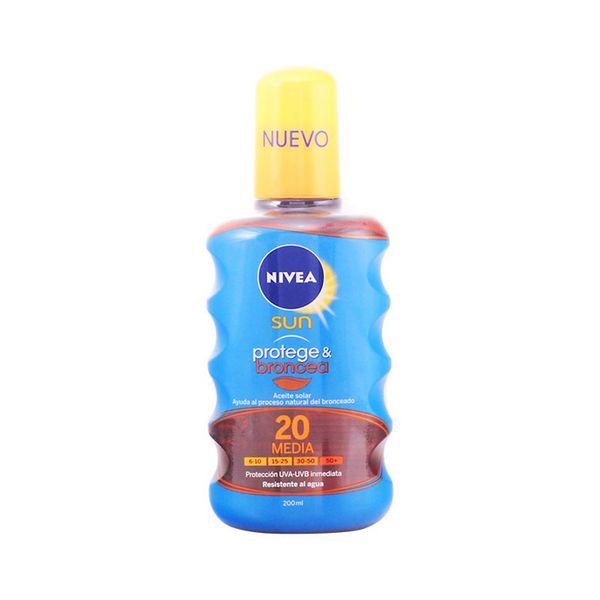 Olejek Chroniący Włosy Spf 20 Nivea 3557