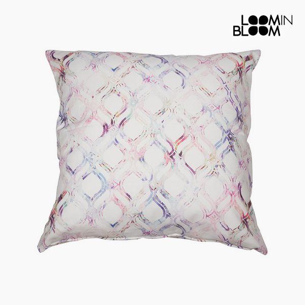 Polštářek Bavlna Růžový (45 x 45 x 10 cm) by Loom In Bloom