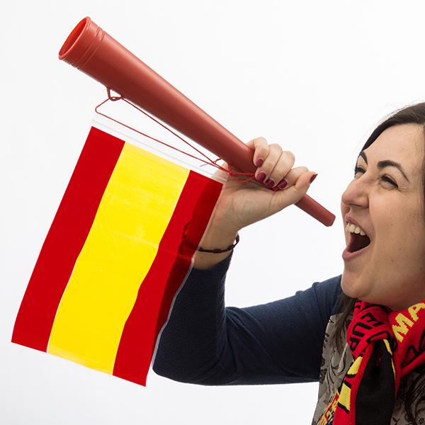 Trumpeta se Španělskou Vlajkou