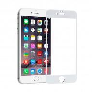 Ochrona Ekranu ze Szkła Hartowanego na Telefon Komórkowy Ref. 101646 4D iPhone 6 Biały