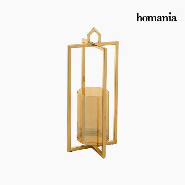 Świecznik Złoty - Queen Deco Kolekcja by Homania