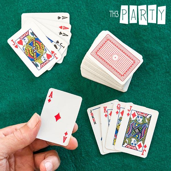 Karty do Pokera Mini Th3 Party