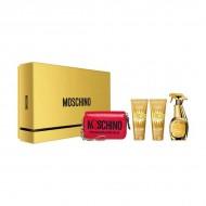 Souprava sdámským parfémem Fresh Couture Gold Moschino (4 pcs)