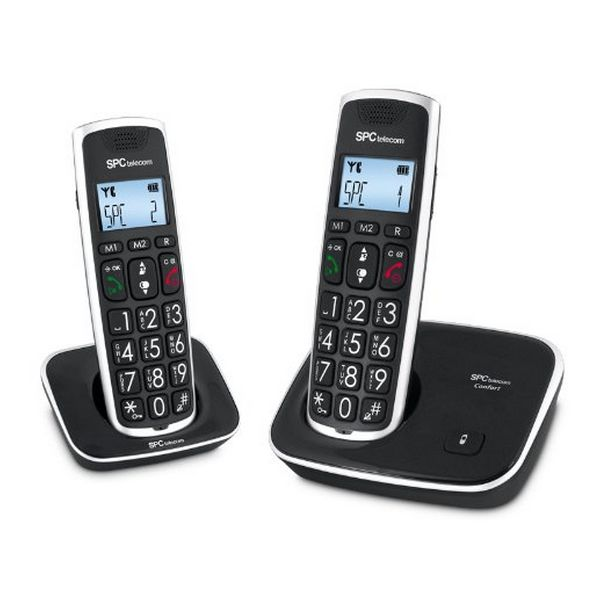 SPC 7609N Phone DECT DUO velká tlačítka AG20 ID LCD ECO