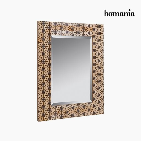 Lustro Drewno sosnowe Dm Szkło fazowane (60 x 3 x 80 cm) by Homania