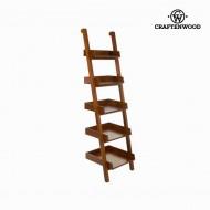 Dřevěný nástěnný stojan na časopisy - Serious Line Kolekce by Craftenwood