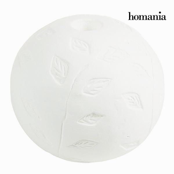 Świecznik okrągły Biały - Be Yourself Kolekcja by Homania