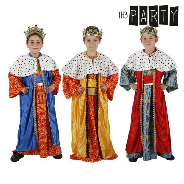 Kostium dla Dzieci Th3 Party Król mag - 7-9 lat
