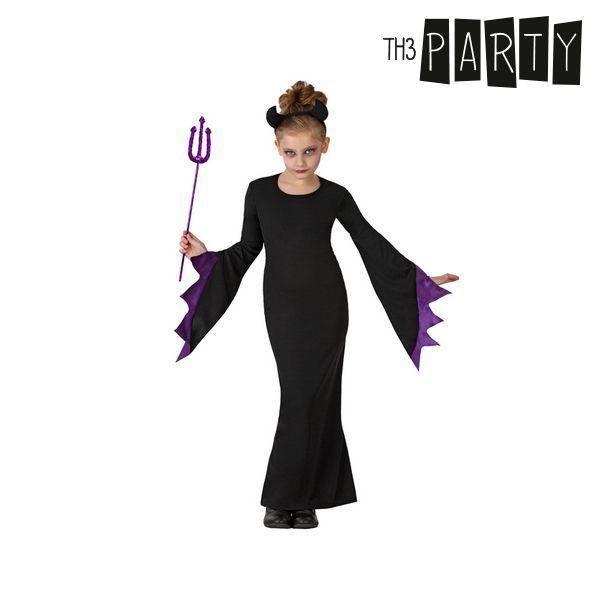 Kostým pro děti Th3 Party Královna temnoty - 3–4 roky