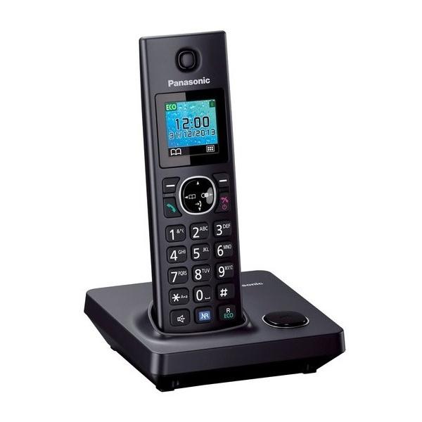 Telefon Bezprzewodowy Panasonic KX-TG7851SPB Czarny