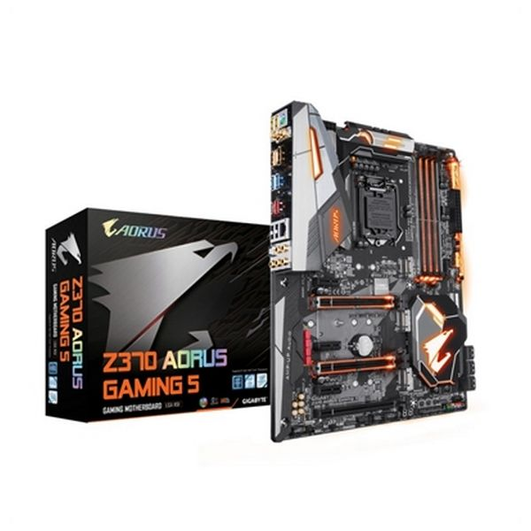 Płyta główna Gaming Gigabyte Z370 AORUS Gaming 5 GA-Z370 AORUS GAM 5 ATX 1151 64 GB DIMM
