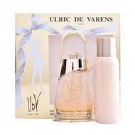 Souprava sdámským parfémem Gold-issime Urlic De Varens (2 pcs)