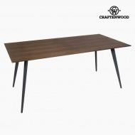 Masă de Sufragerie Mdf Nuc (180 x 90 x 75 cm) by Craftenwood