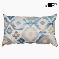 Poduszka Niebieski (50 x 70 cm) - Jungle Kolekcja by Loom In Bloom