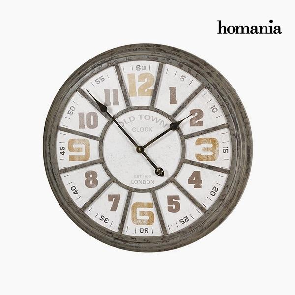 Zegar Ścienny Żelazo (62 x 6,5 x 61 cm) by Homania