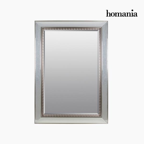 Lustro Żywica syntetyczna Szkło fazowane Srebro (80 x 4 x 110 cm) by Homania