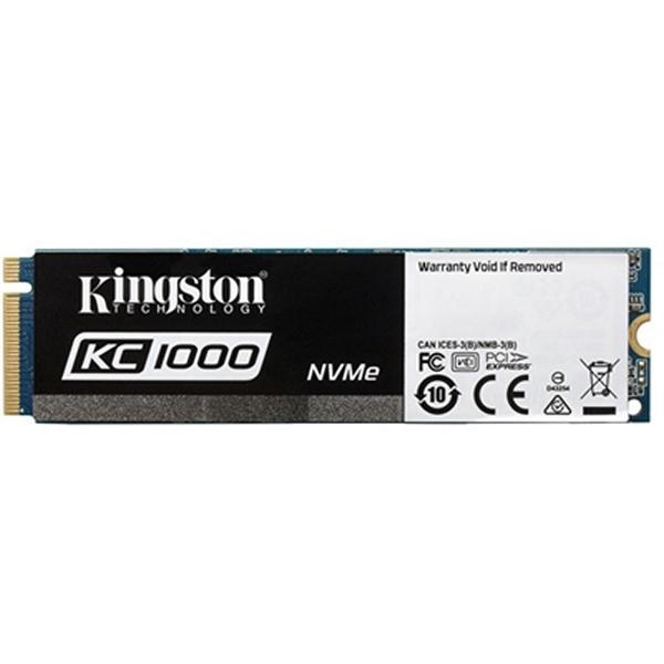 Dysk Twardy Kingston KC1000 NVMe PCIe SSD 240GB, M. SKC1000/240G 240 GB