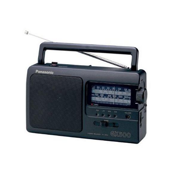 Přenosné rádio Panasonic RF-3500E9-K Černý