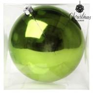 Vánoční baňka Christmas Planet 20 cm - zelená