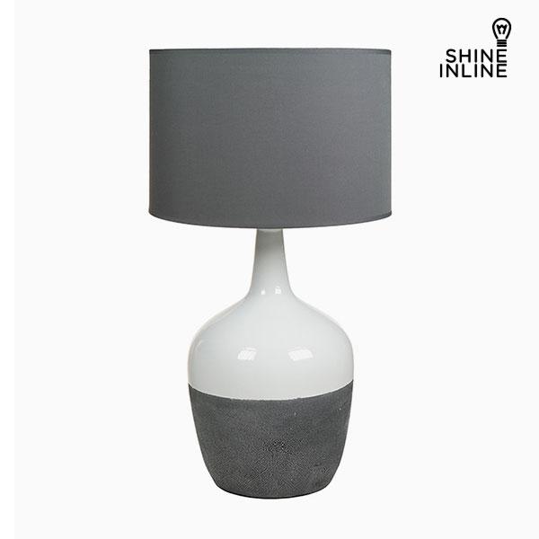Stolní Lampa Bílý Šedý by Shine Inline