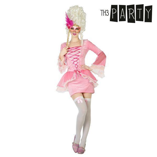 Kostým pro dospělé Th3 Party Dvorní dáma Růžový - XL