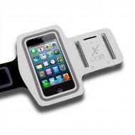 Sportovní neoprenové pouzdro na telefon X-ONE 106085 Velikost M Bílý
