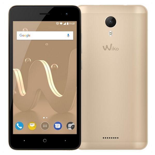 Telefon komórkowy WIKO MOBILE JERRY2GOLD 16 GB Złoto