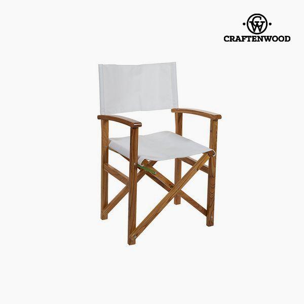 Židle Dřevo z nimu Bílý (86 x 55 x 52 cm) by Craftenwood
